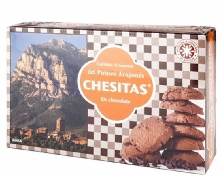 Chesitas Galletas artesanas con chocolate