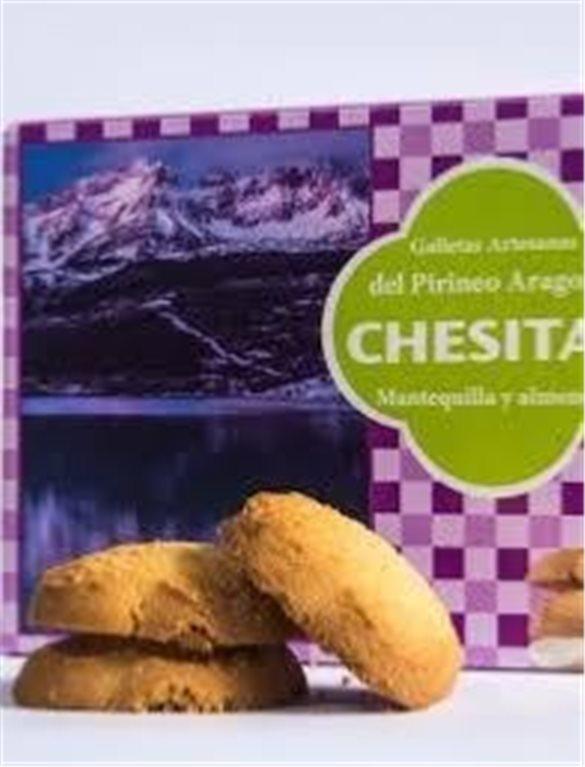 Chesitas Galletas artesanas con mantequilla y almendra
