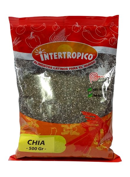 CHIA SEMILLAS INTERTROPICO X 500GR