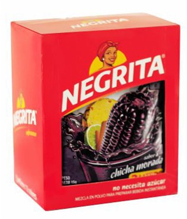 CHICHA MORADA LA NEGRITA 15GR DISPL