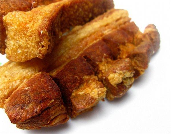 Chicharrones fritos