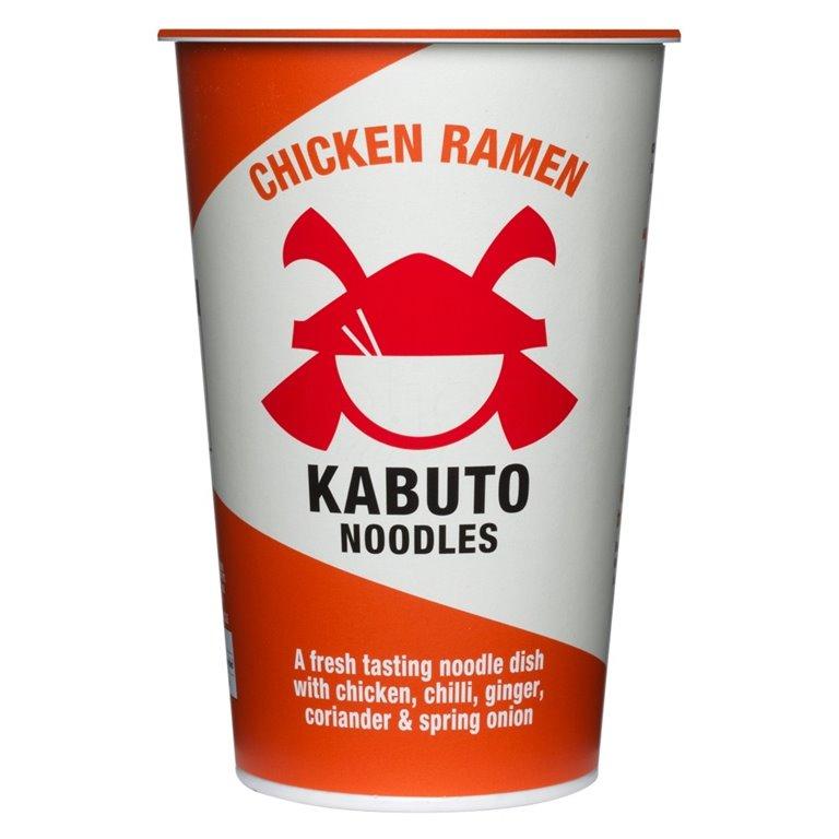 Chicken Ramen 85gr. Kabuto Noodles. 6un., 1 ud