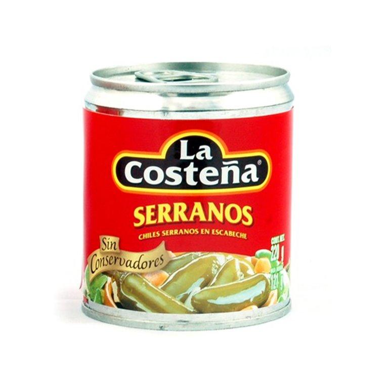 CHILES SERRANOS LA COSTEÑA