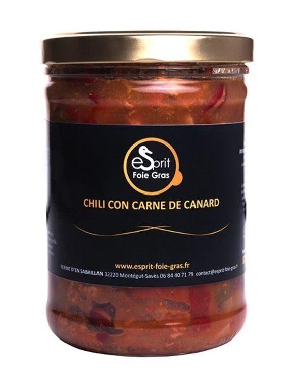 CHILI CON CARNE DE CANARD 875 g