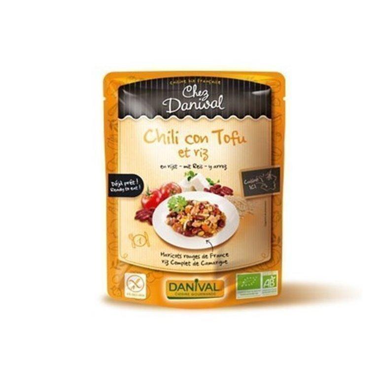 Chili Con Tofu Alubias Y Arroz S/G, 1 ud