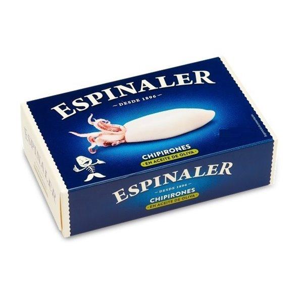 Chipirones en Aceite de Oliva 5/8 Piezas Espinaler