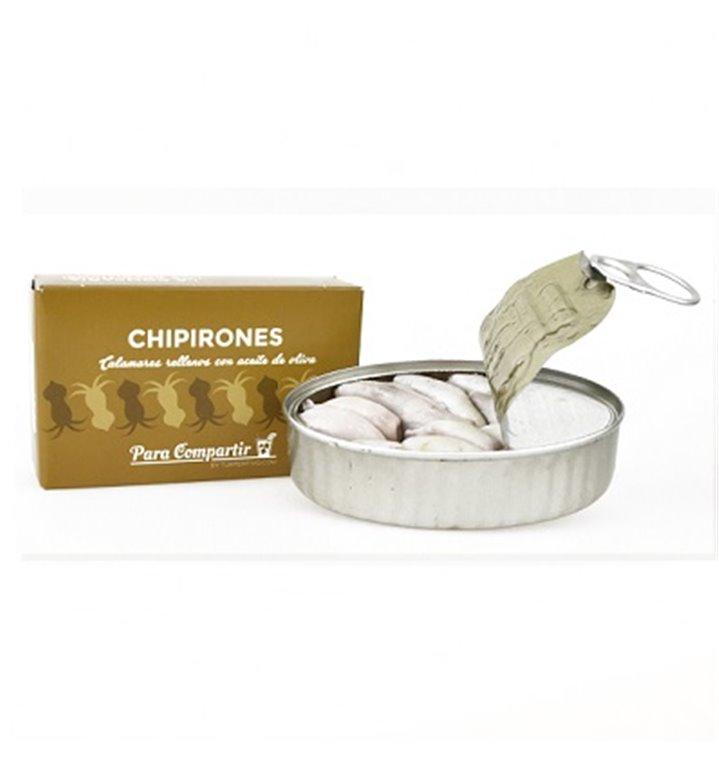 Chipirones rellenos en aceite de oliva 6/8 piezas Para Compartir
