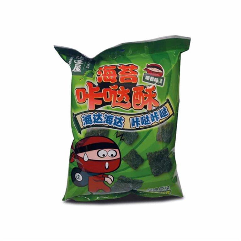 Nori Seaweed Chips - Haidawu - 30g