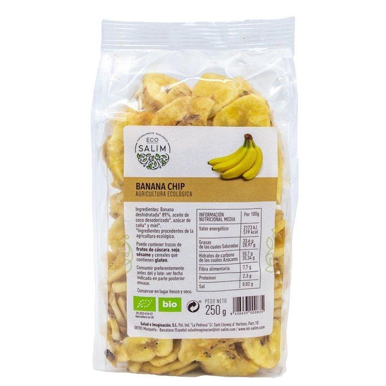 Chips de Banana Deshidratada Bio 150g