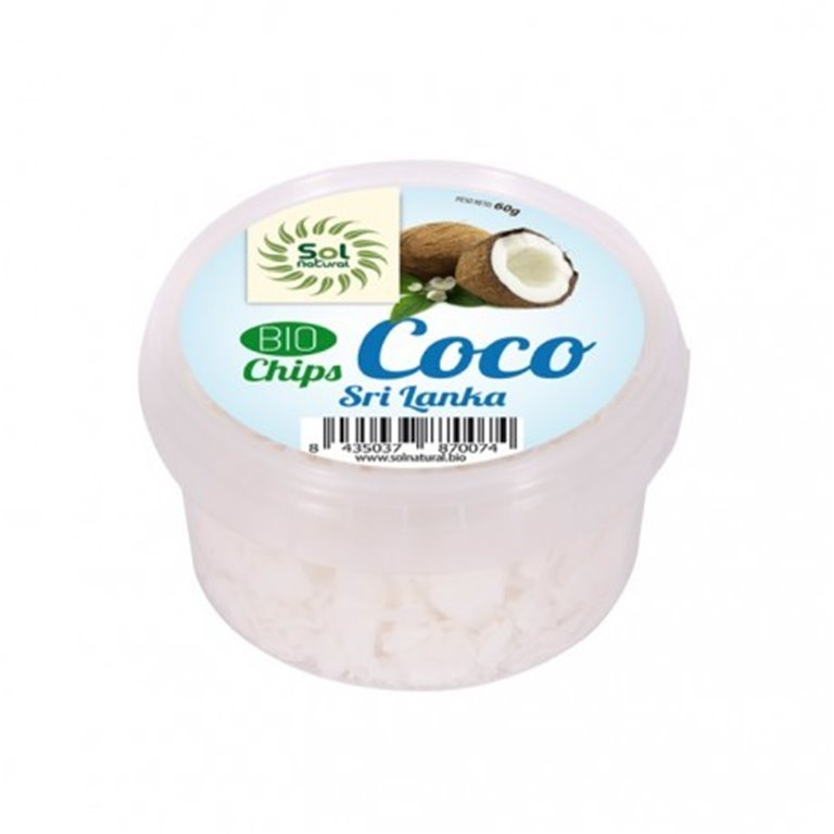 Chips de Coco Sri. Lanka Bio 60g