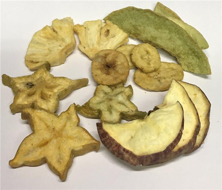Chips de Frutas 200 gramos, 1 ud