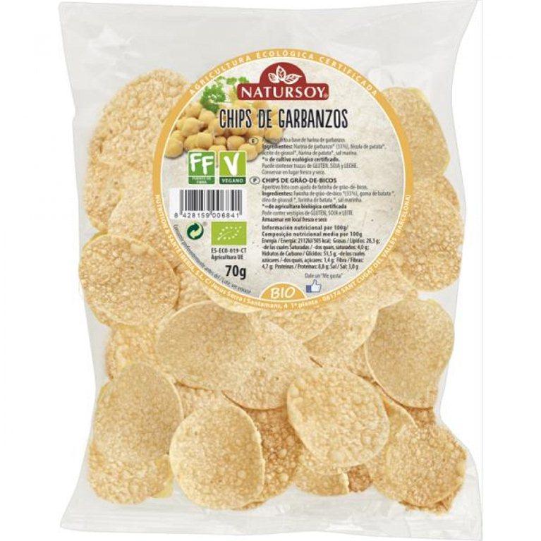 Chips de garbanzos, 70 gr