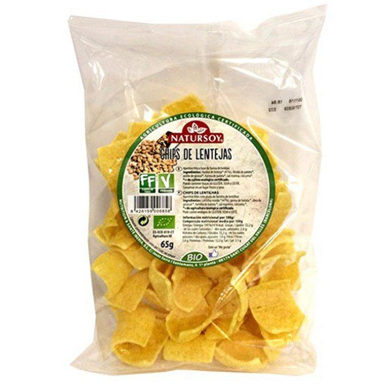 Chips de lentejas, 70 gr