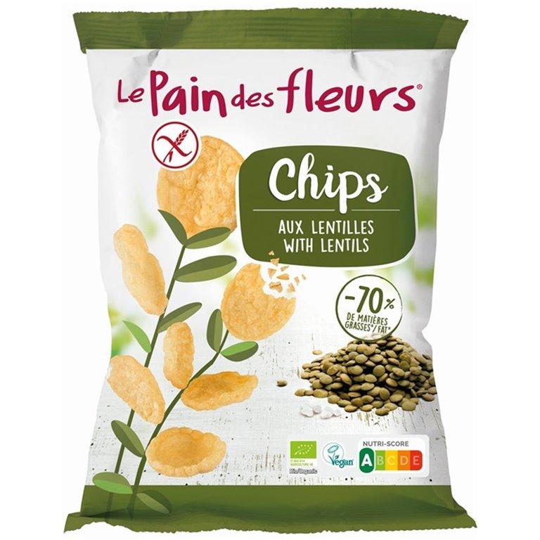 Lentil Chips Gluten Free Organic 50g