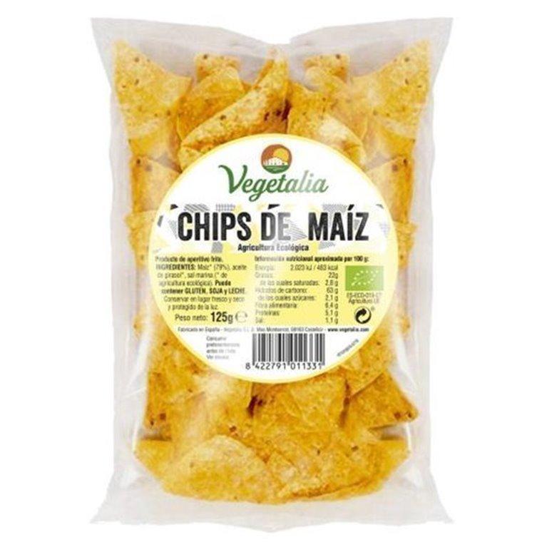 Chips de maíz 125g