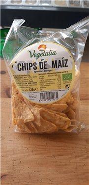 Chips de maíz, 125 gr