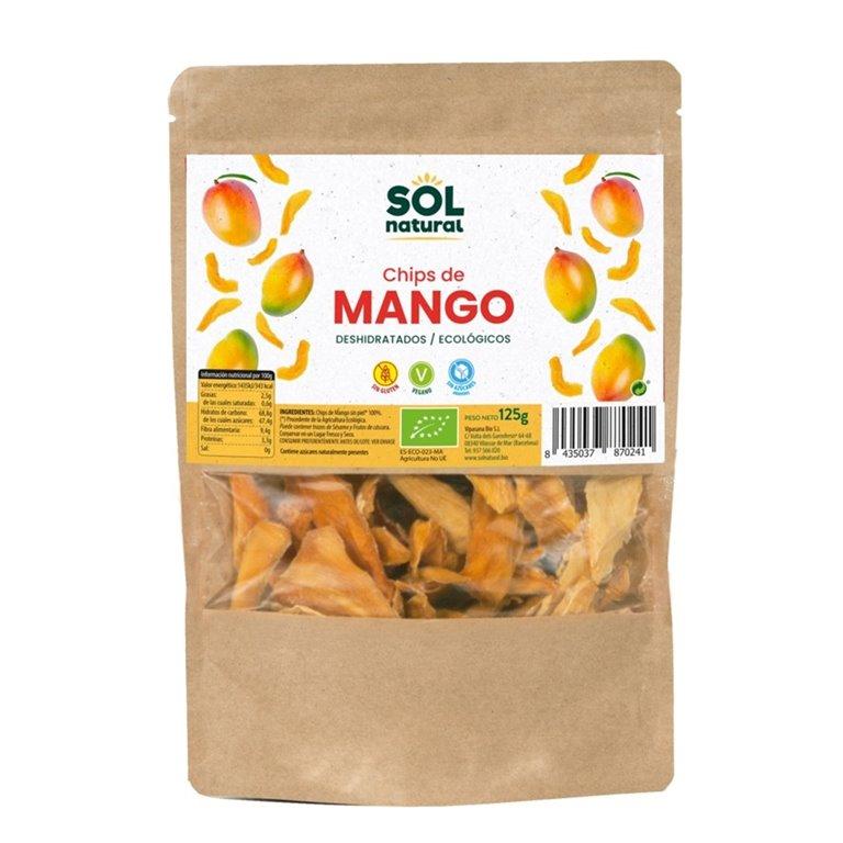 Chips de Mango Deshidratado Bio 125g