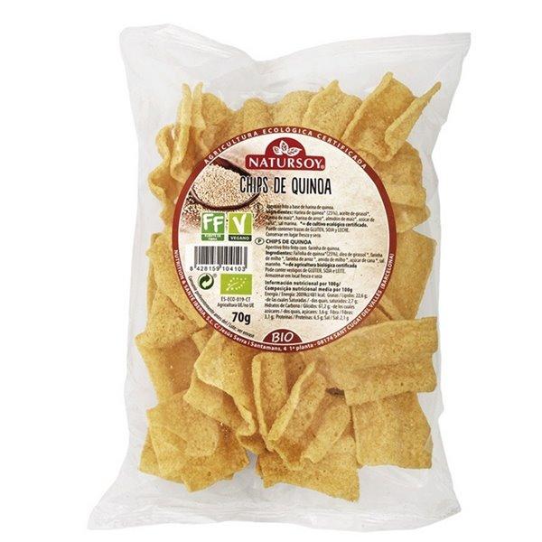Chips de Quinoa Bio 70g