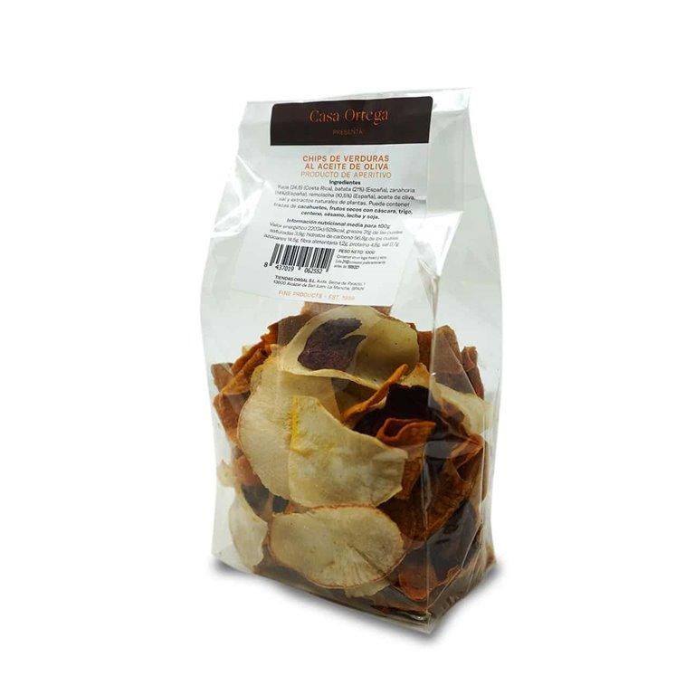 Vegetable Chips in Olive Oil Casa Ortega - 100g