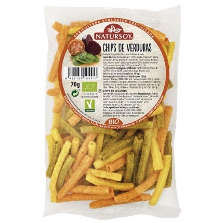 Chips de Verduras Bio 70g
