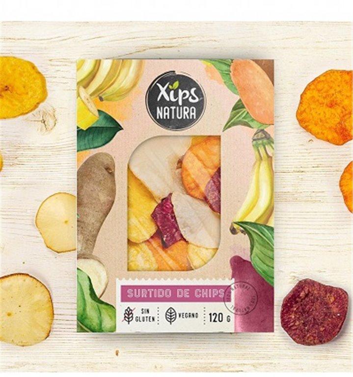Chips de verduras Xips Natura 120gr