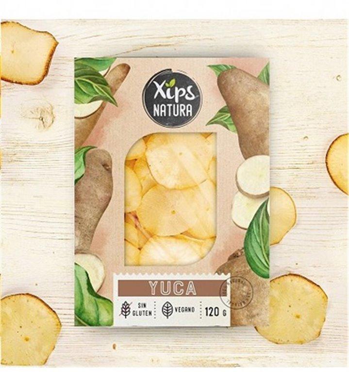 Chips de Yuca Xips Natura 120gr
