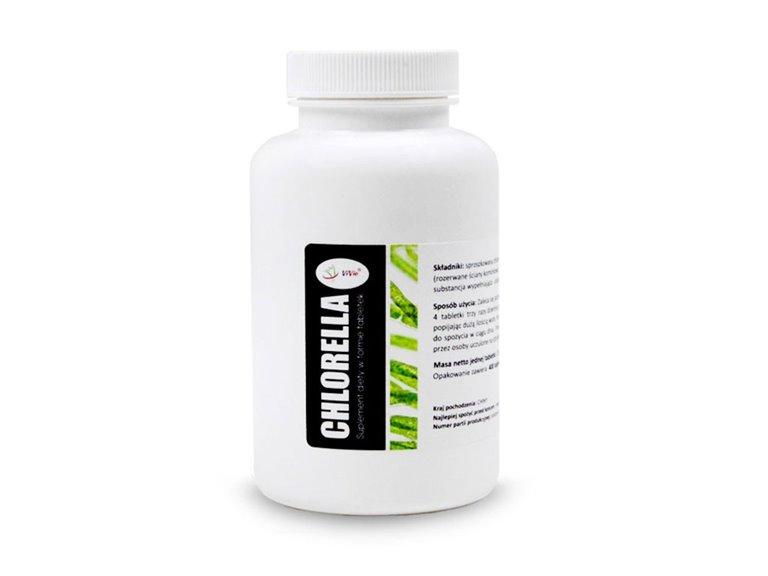 Chlorella 500mg 400 comprimidos, 1 ud