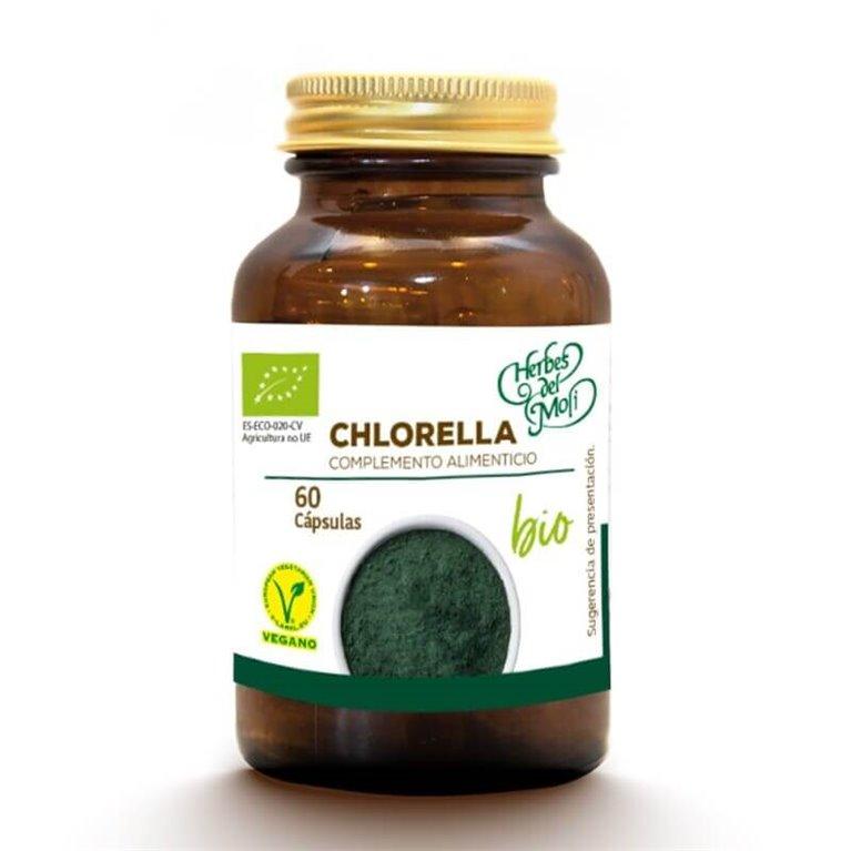 Chlorella BIO - 60 cápsulas - Herbes del moli