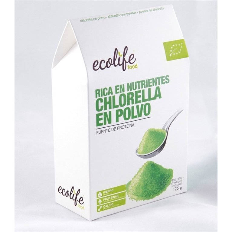 Chlorella en Polvo