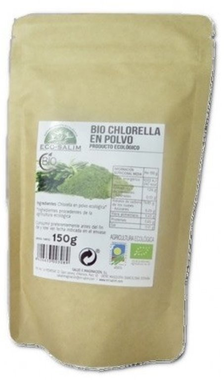 Chlorella en Polvo Bio 150g