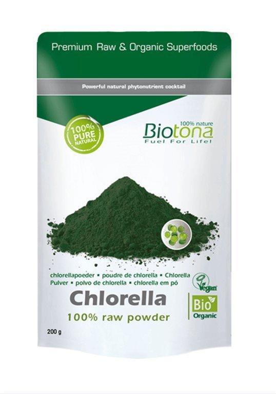 Chlorella en polvo, 200 gr