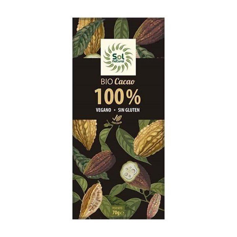 Chocolate 100% solnatural 70g