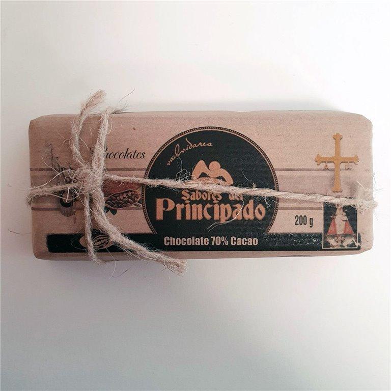 Chocolate 70%  Cacao  200 g.