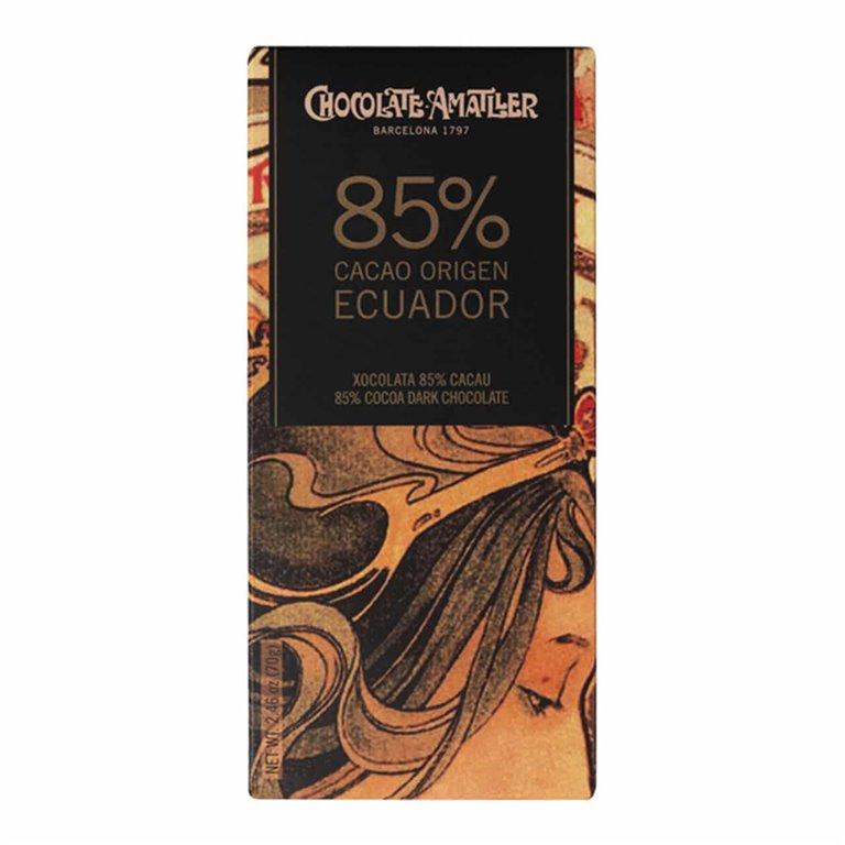 Chocolate 85% Ecuador Amatller