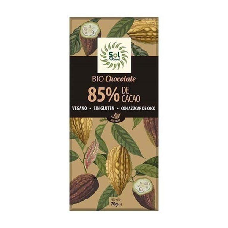 Chocolate 85% solnatural 70g