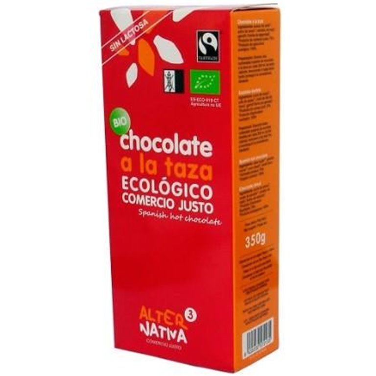 Chocolate a la Taza Bio Fairtrade 350g