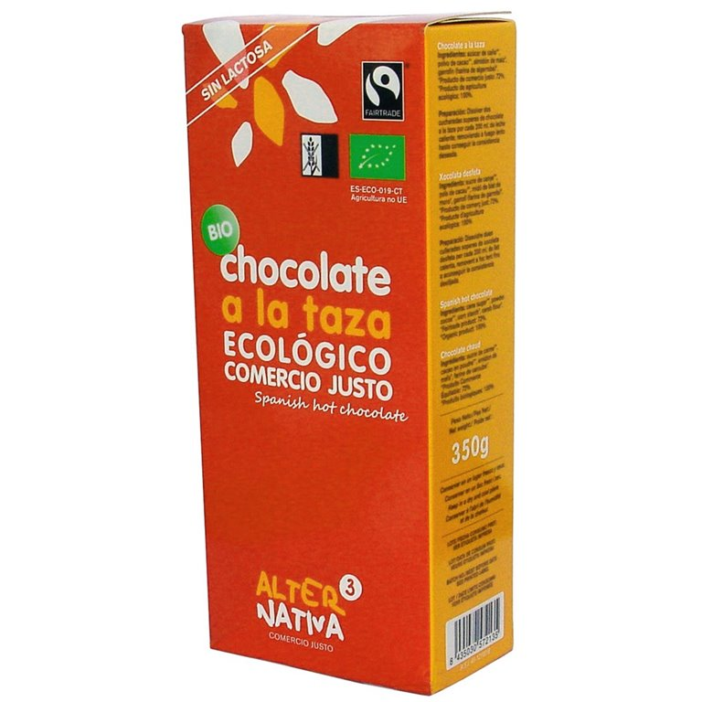 Chocolate a la Taza en Polvo Bio Fairtrade 350g