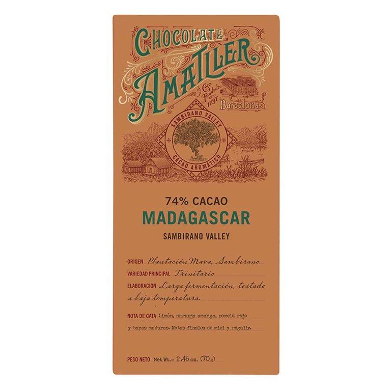 Chocolate Amatller Madagascar