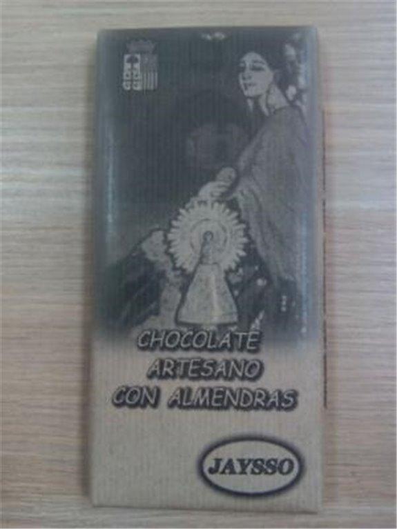 Chocolate artesano con almendras Jaysso, 1 ud