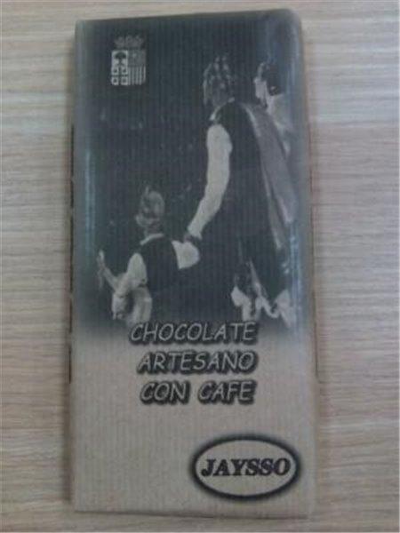 Chocolate artesano con café Jaysso