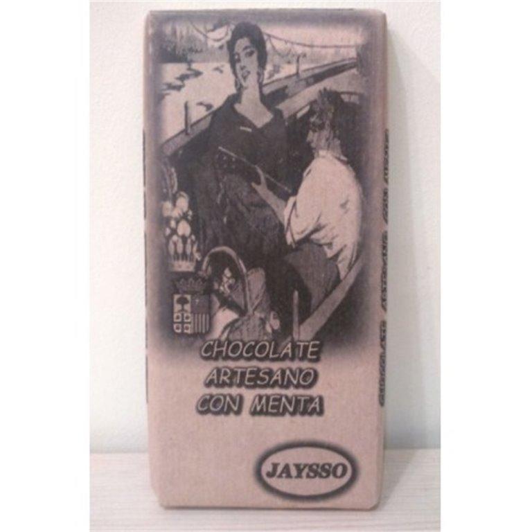 Chocolate artesano con menta Jaysso, 1 ud
