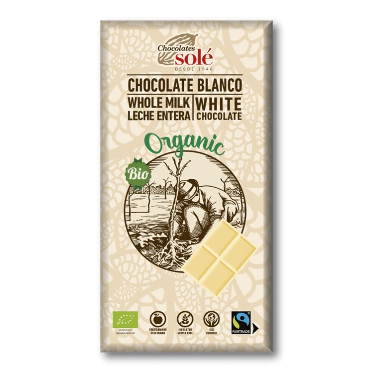 Chocolate blanco BIO