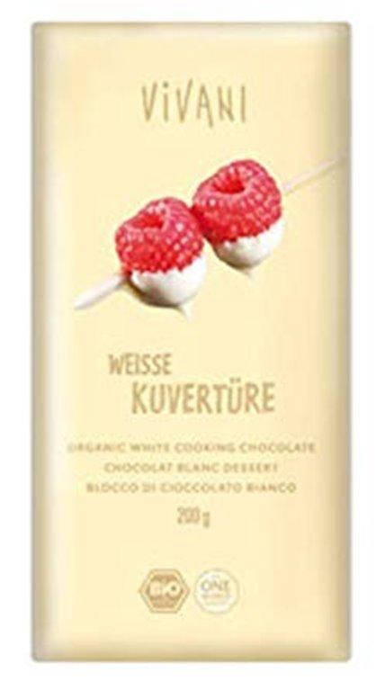 Chocolate Blanco de Cobertura Bio 200g
