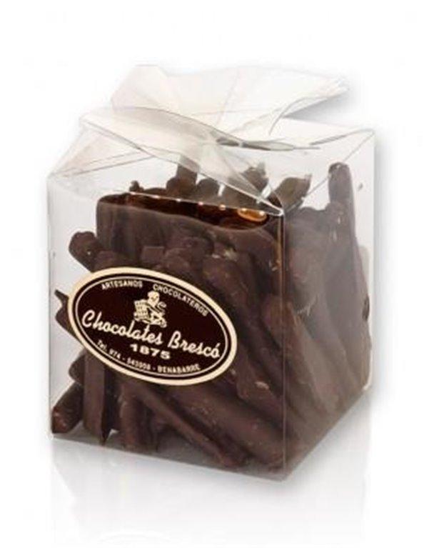 Chocolate Brescó Naranja con Chocolate negro, 1 ud