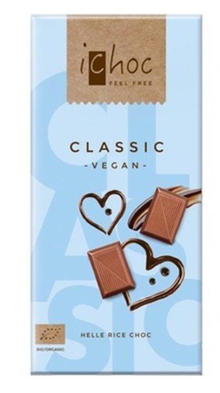 Chocolate classic vegan, 80 gr