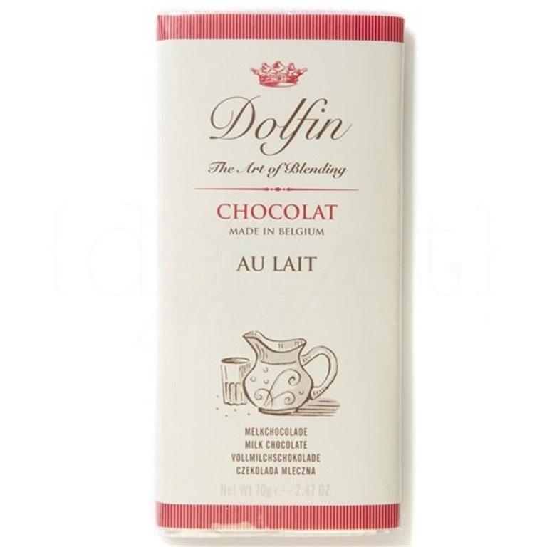 Chocolate con Leche 70gr. Dolfin. 15un., 1 ud