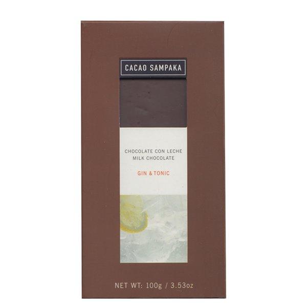 Chocolate con Leche - Gin Tonic - Cacao Sampaka