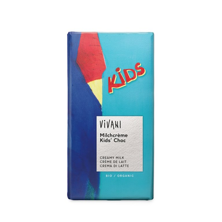 Chocolate con Leche para Niños Bio 100g