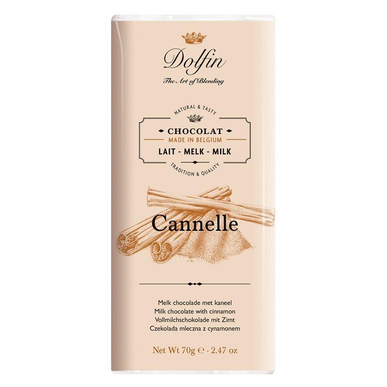 Chocolate con Leche y Canela de Ceylan, 1 ud