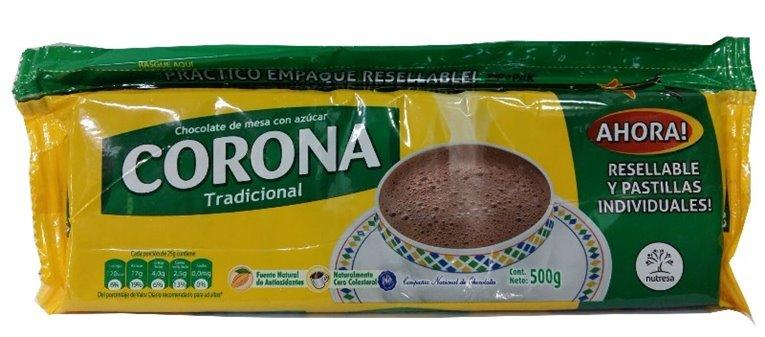 CHOCOLATE CORONA X 500gr
